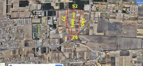 Imagen 1 de 4 de Terreno De 6000 M2 Sobre Av Codagem (circuito Bicentenario) Metepec