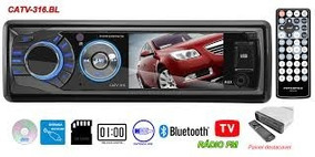 Dvd Player Powerpack Catv-316 - Bluetooth - Usb - Sd