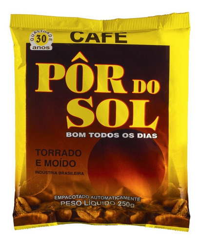 Imagem 1 de 1 de Café Pôr Do Sol Torrado E Moído 250gr