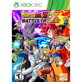 Dragon Ball Z: Battle Of Z Xbox 360 Mídia Física Lacrado