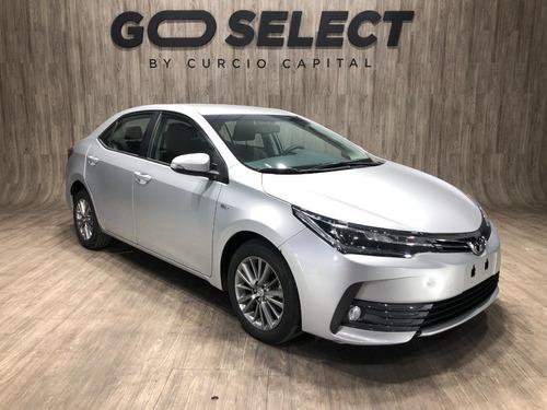 Toyota Corolla 1.8 Xei 2018 Gris Plata Excelente Estado
