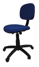 Cadeira Giratória Secretária Para Escritório Com Rodinha