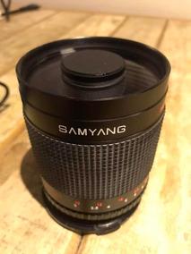 Lente Samyang 1:8.0 F=500mm @72