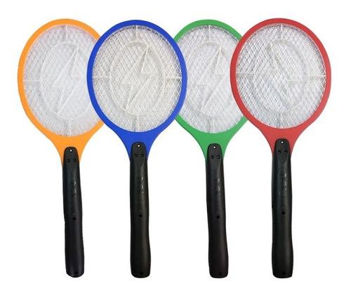 Raquete Elétrica Mata Mosca Recarregável Mosquitos