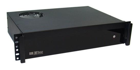 Gabinete Rack 19 Mini-itx E Matx 2u P/ Servidor E Appliance