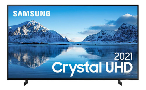 Smart Tv Samsung 85'' Crystal Uhd 4k Au8000 Visual Sem Cabos