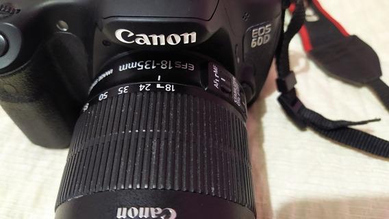 Câmera Canon 60d Com Lente 18-135mm