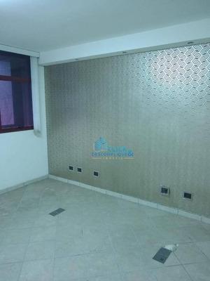 Sala Para Alugar, 53 M² Por R$ 2.000/mês - Vila Nova - Santos/sp - Sa0252