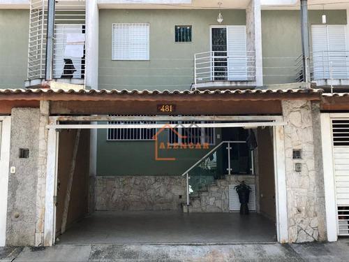 Sobrado À Venda, 67 M² Por R$ 508.000,00 - Conjunto Residencial José Bonifácio - São Paulo/sp - So0196