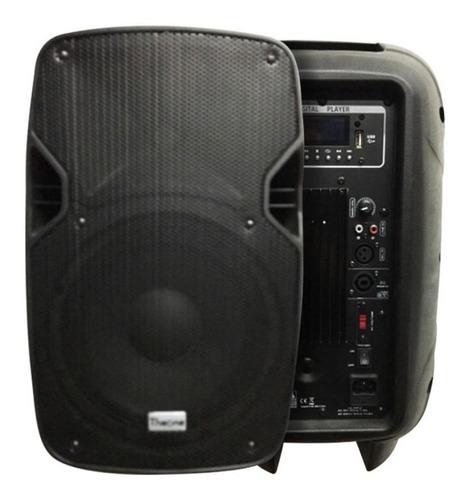 Caja Activa 10  Amplificado 300w. Max. Abi Tecnología