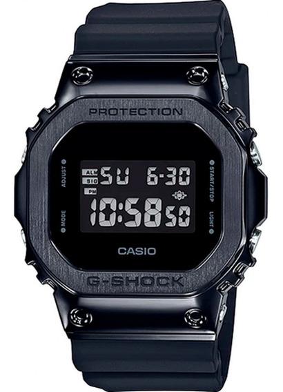 Relógio Casio G-shock Masculino Gm-5600b-1dr + Nfe Garantia
