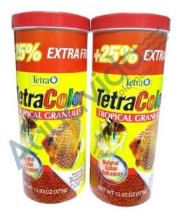 2 Tarros Tetra Color Granulo 300+75gr Edicion Especial 375gr