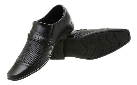 Sapato Social Masculino Siroco Preto Qualidade Garantida