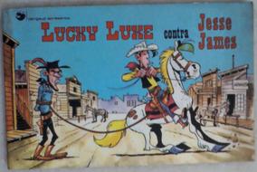 Lucky Luke Contra Jesse James N° 1 - Rge 1976 (raro Dargaud)
