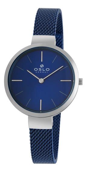 Relógio Oslo Oftsss9t0010 D1dx Aco Inox Feminino