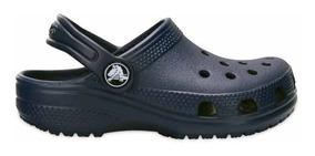 Zapato Crocs Infantil Classic K Azul Marino