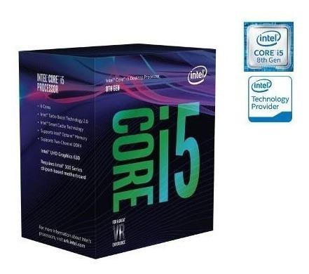 Processador Core I5 8600k Lga 1151 3.6ghz Hexa S/cooler 8+nf