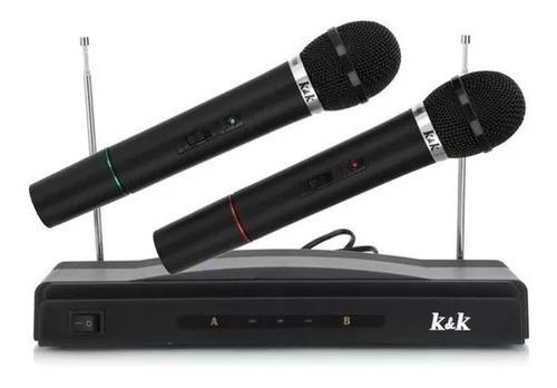 Kit Micrófonos Inalambricos Karaoke 2 Micro *soy Tienda*