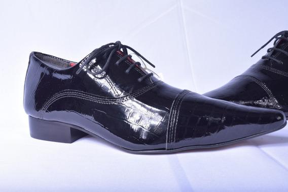 Sapatos Social Diferenciado Em Couro Com Garantia Sem Juros