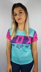 Camiseta Fox Feminina Baby Look Sublimada