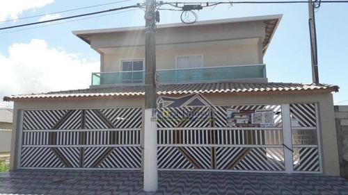 Casa Residencial À Venda, Balneário Esmeralda, Praia Grande. - Ca0526