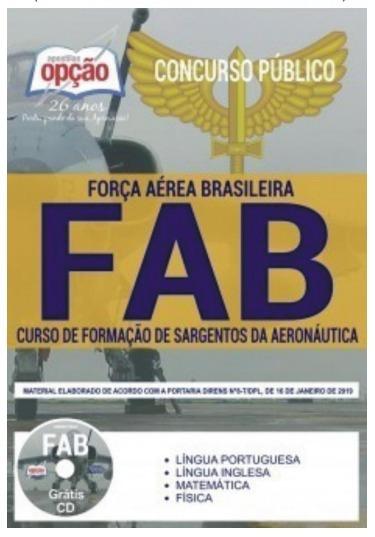 Apostila Concurso Fab 2019 Opcao