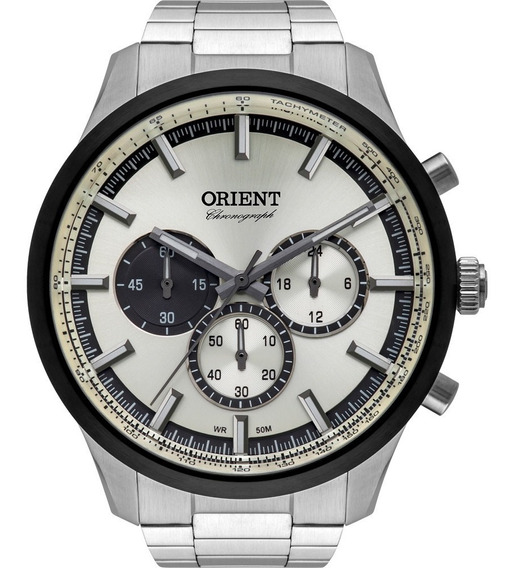 Relógio Orient Masculino Chronograph Original Mbssc206s1sx