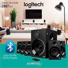 Bocina Logitech Z607 Conexion Bluetooth, Entrada Auxliar, Fm
