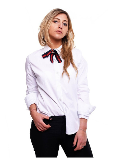 Customs Ba Camisas Mujer Importadas Entalladas Camisa Blanca