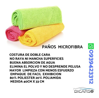 Paños De Microfibra