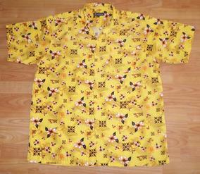 Camisa Hawaiiana Talla Xxl Calor Vacaciones