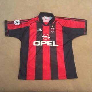 Camisa Milan 1998/99 Home - Bierhoff - adidas