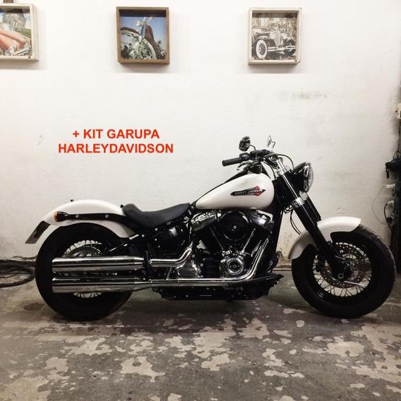 Harley Davidson Softail Slim (fatboy) + Kit Garupa