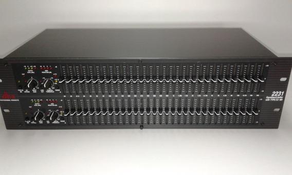 Equalizador Dbx 2231v 31 Bandas (novo)