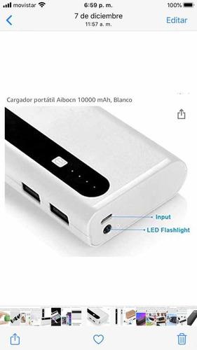 Cargador Portátil Power Bank