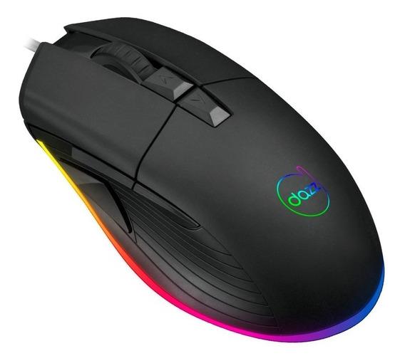 Mouse Gamer Dazz Kirata Ascendent Rgb 12.400dpi 8 Bot 624632