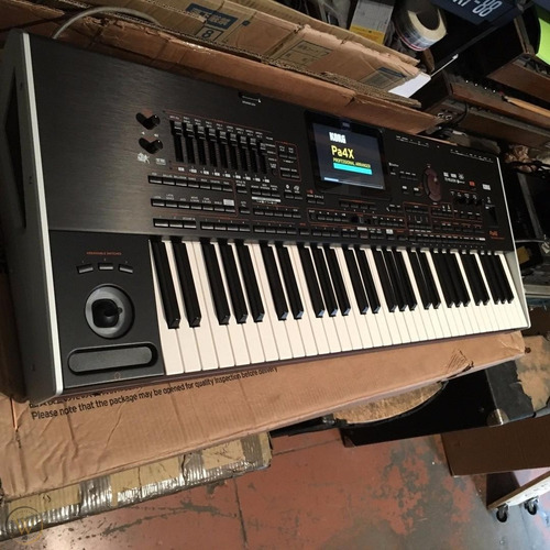 Korg Pa4x 76 Keys Professional Arranger Workstation Keyboard