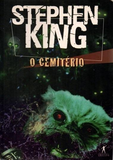 Livro O Cemitério Stephen King