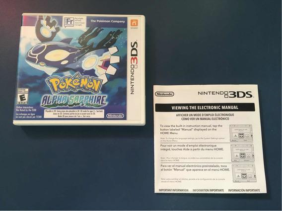 Pokemon Alpha Sapphire Original Americano Nintendo 3ds 2ds