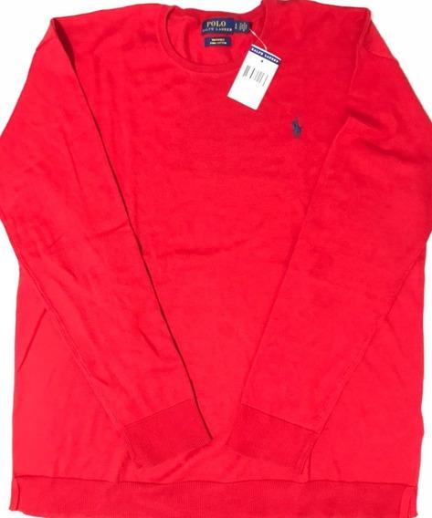 Polo Ralph Lauren Sueter Saco 100% Original Talla L