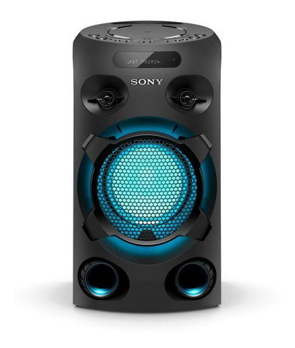 Mini System Sony Cd Iluminação Karaokê Bluetooth Mhc-v02/b