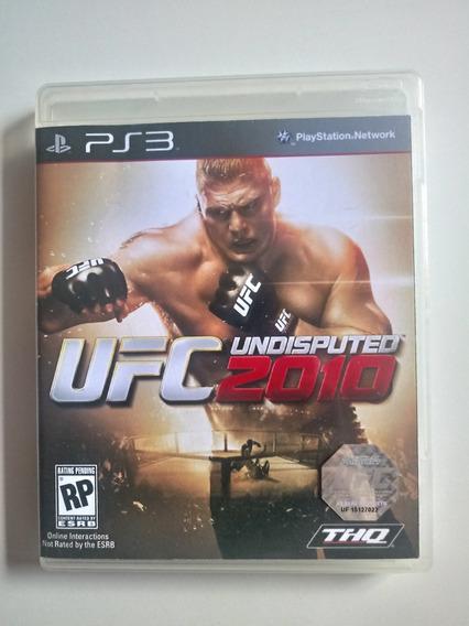 Jogo Ufc Undisputed 2010 Original Ps3 Playstation 3 Física