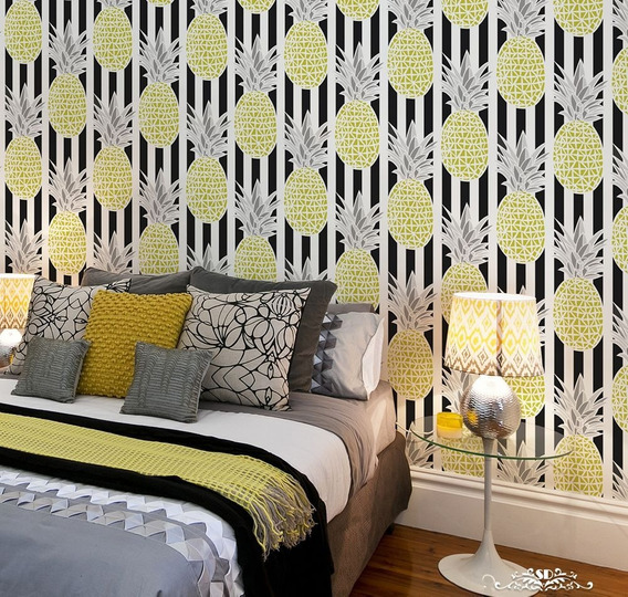 Stencil Pineapple Xpress Plantilla Decorativa Para Pintar