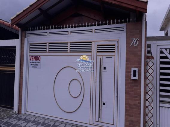 Casa De 02 Dormitórios-caiçara-praia Grande - Sp709