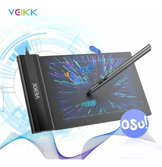 Tablet De Dibujo Digital Con Bolígrafo S/batería Veikk S640
