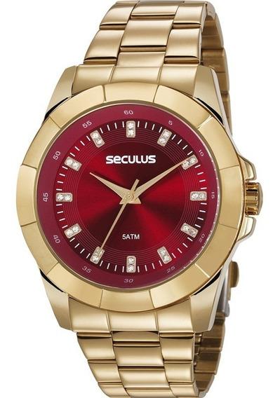 Relógio Seculus Feminino 20611lpsvds1