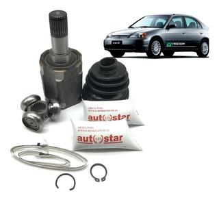 Kit Tulipa Trizeta Honda Civic 1.7 Automatico Direito 01/06