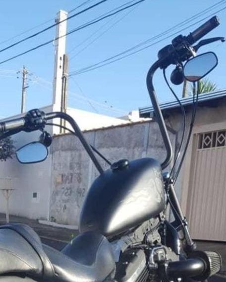 Guidão Seca Suvaco Harley 883 12 Polegadas