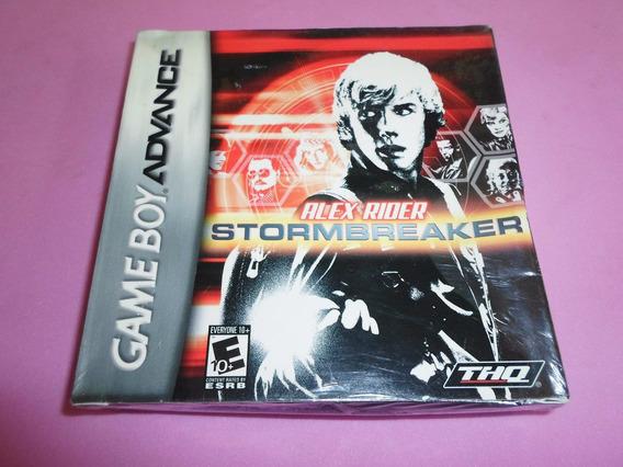 Alex Rider Stormbreaker Lacrado Para Game Boy Advance Gba
