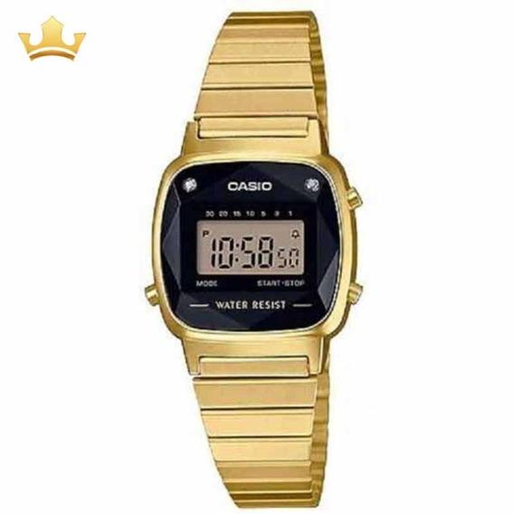 Relógio Casio Feminino La670wgad-1df Vintage Com Nf